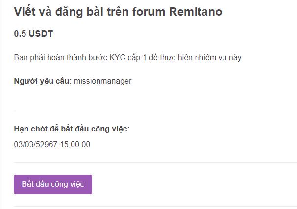 Bạn chỉ cần đăng bài trên diễn đàn Remitano cũng có tiền.